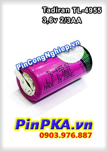 Pin công nghiệp Lithium Tadiran 3,6v TL-4955